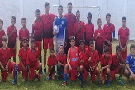 """Encerramento da versão 2018 do Projeto Social """"Escolinha de Futebol Criança Feliz"""""""